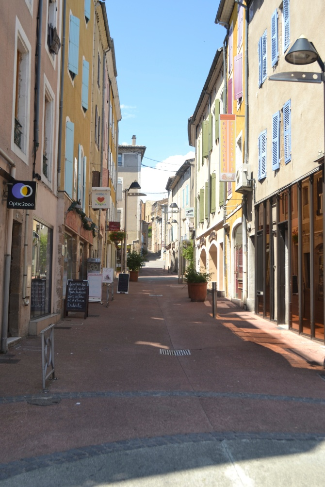 Streetview Privas, France