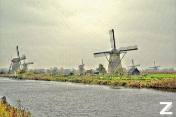 Netherlands, Kinderdijk