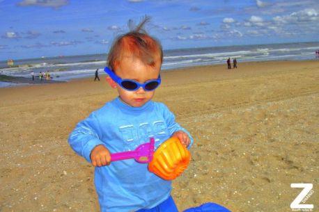 Jomar at the beach