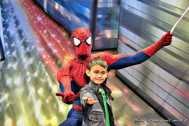 Jomar's Hero Spiderman