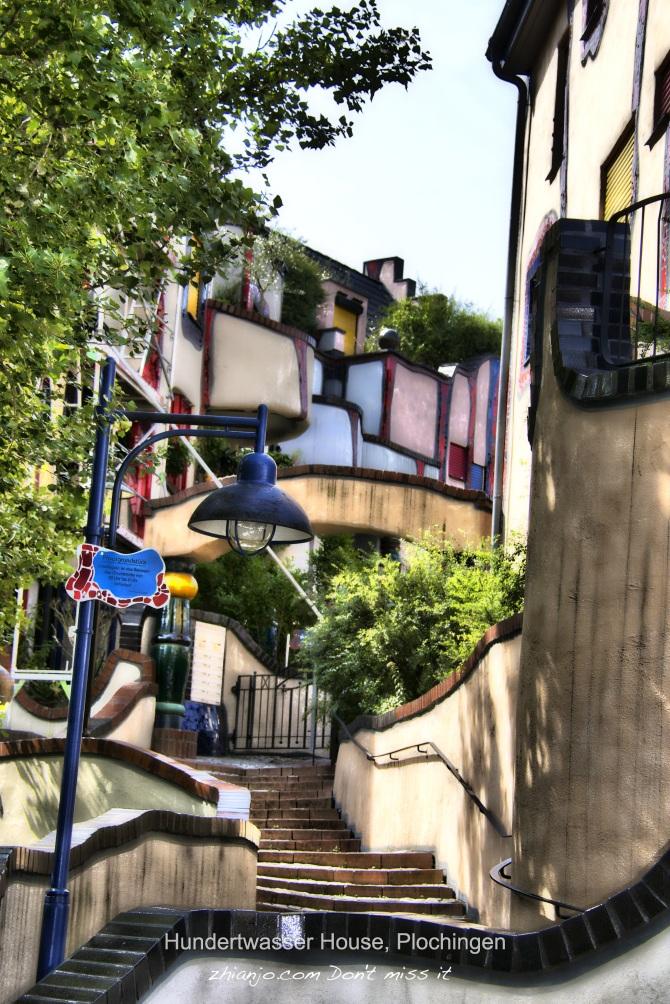 Hundertwasser House, Plochingen-1