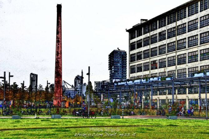 Eindhoven, Philips Strijp-S